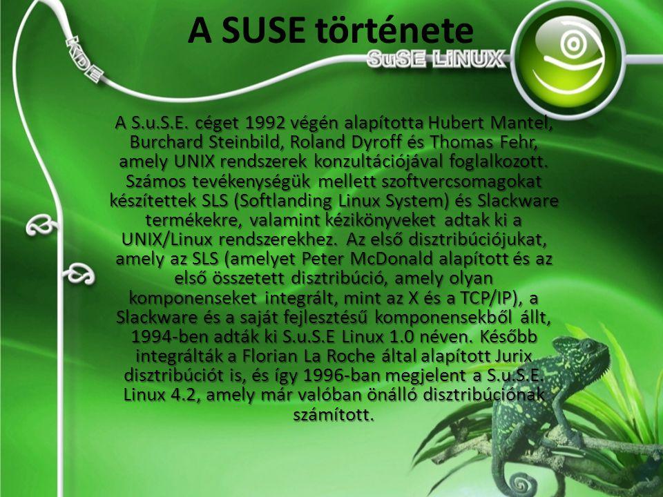 A SUSE története