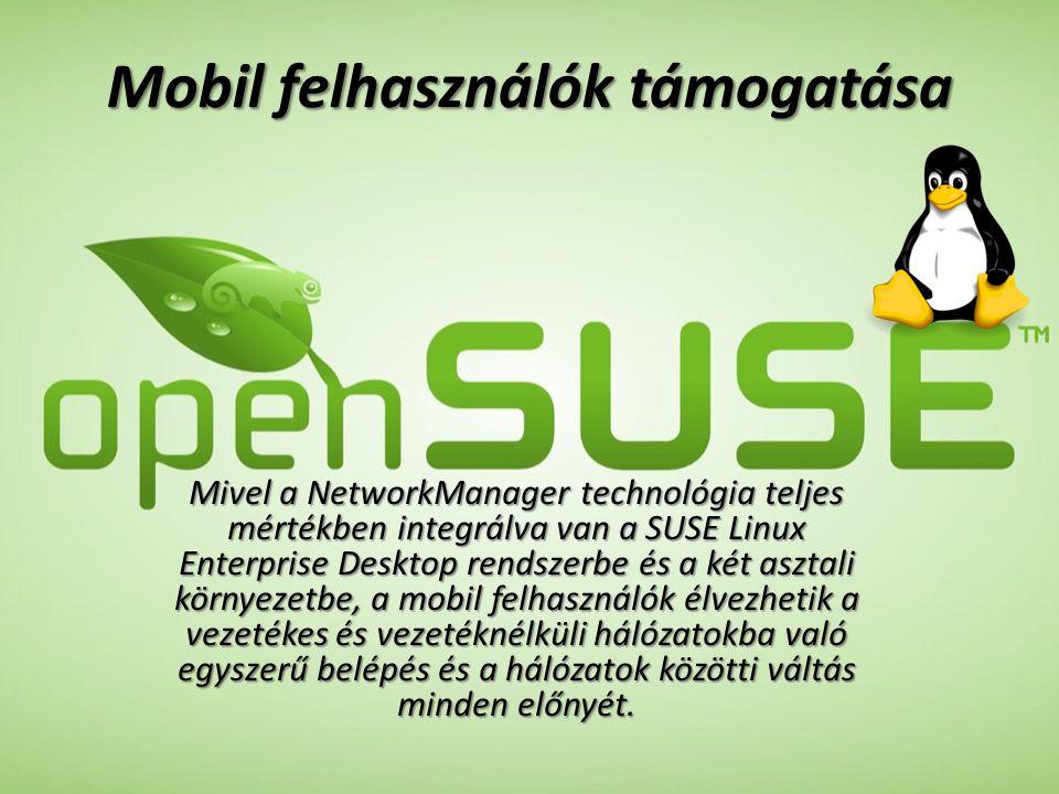 Mobil felhasználók támogatása