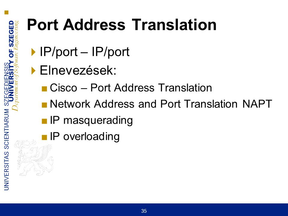 Port Address Translation