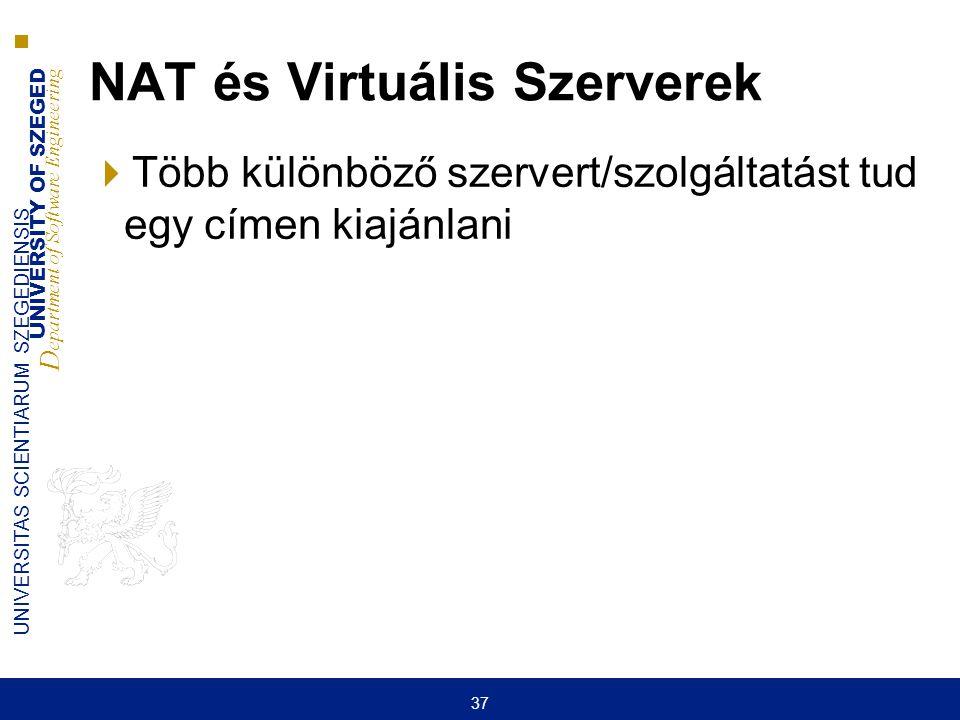 NAT és Virtuális Szerverek