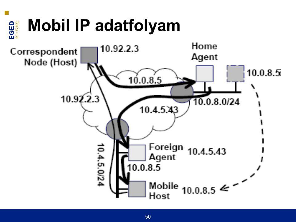 Mobil IP adatfolyam