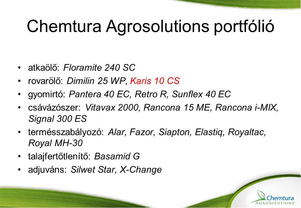 Chemtura Agrosolutions portfólió