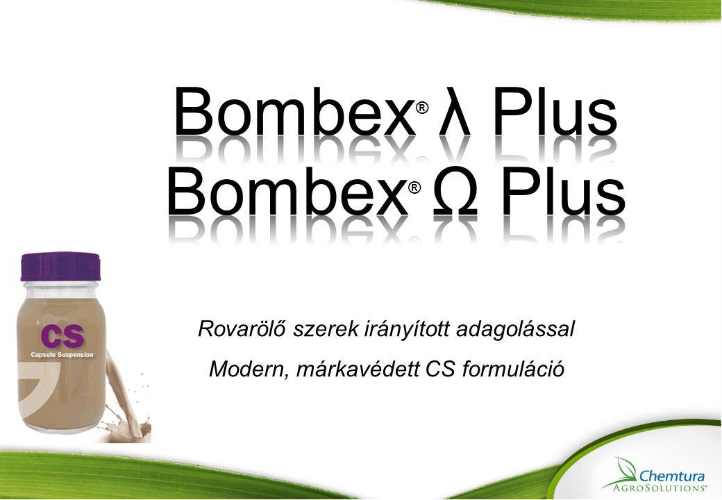 Bombex® λ Plus Bombex® Ω Plus Rovarölő szerek irányított adagolással