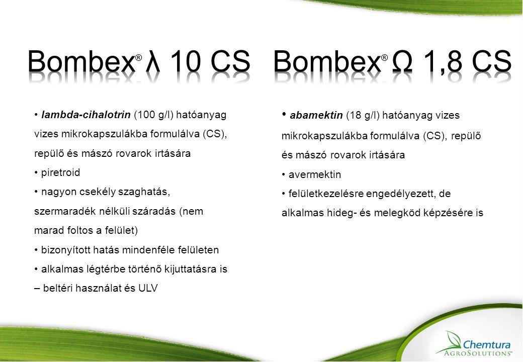 Bombex® λ 10 CS Bombex® Ω 1,8 CS