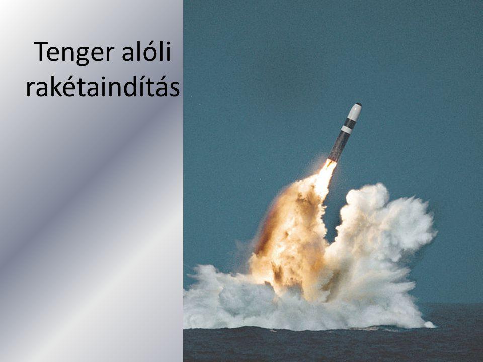 Tenger alóli rakétaindítás