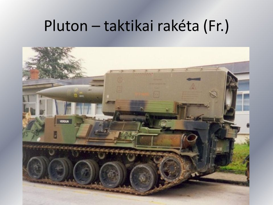 Pluton – taktikai rakéta (Fr.)