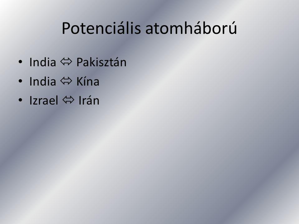 Potenciális atomháború