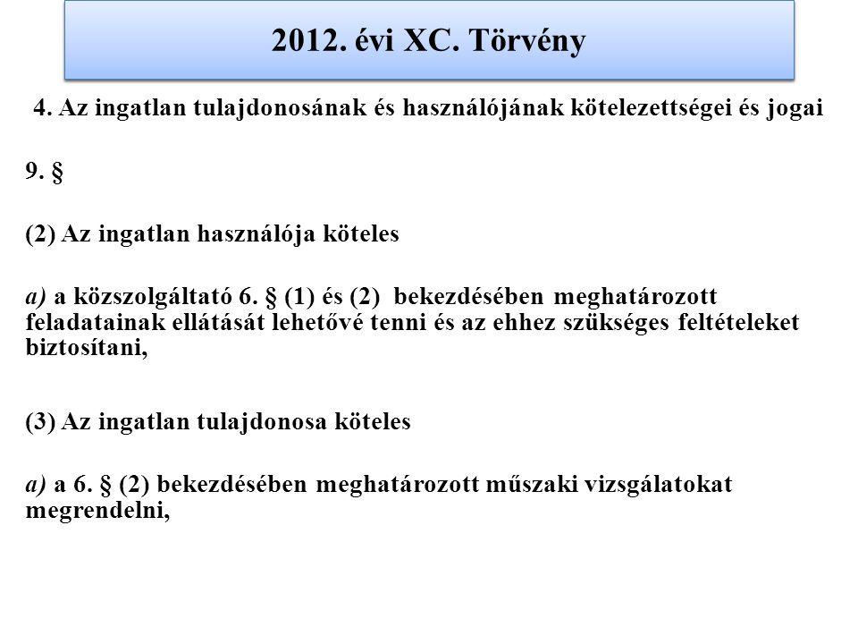 2012. évi XC. Törvény 2012. évi XC. Törvény