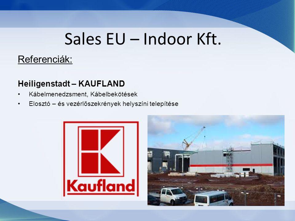 Sales EU – Indoor Kft. Referenciák: Heiligenstadt – KAUFLAND