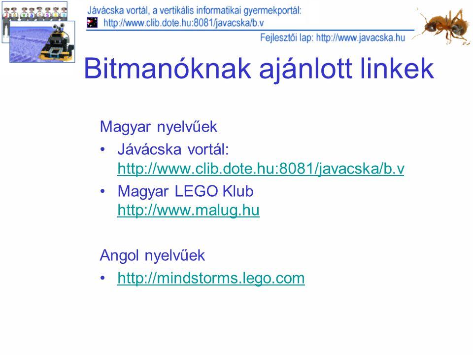 Bitmanóknak ajánlott linkek