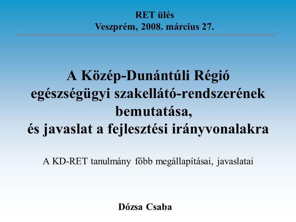 A Közép-Dunántúli Régió
