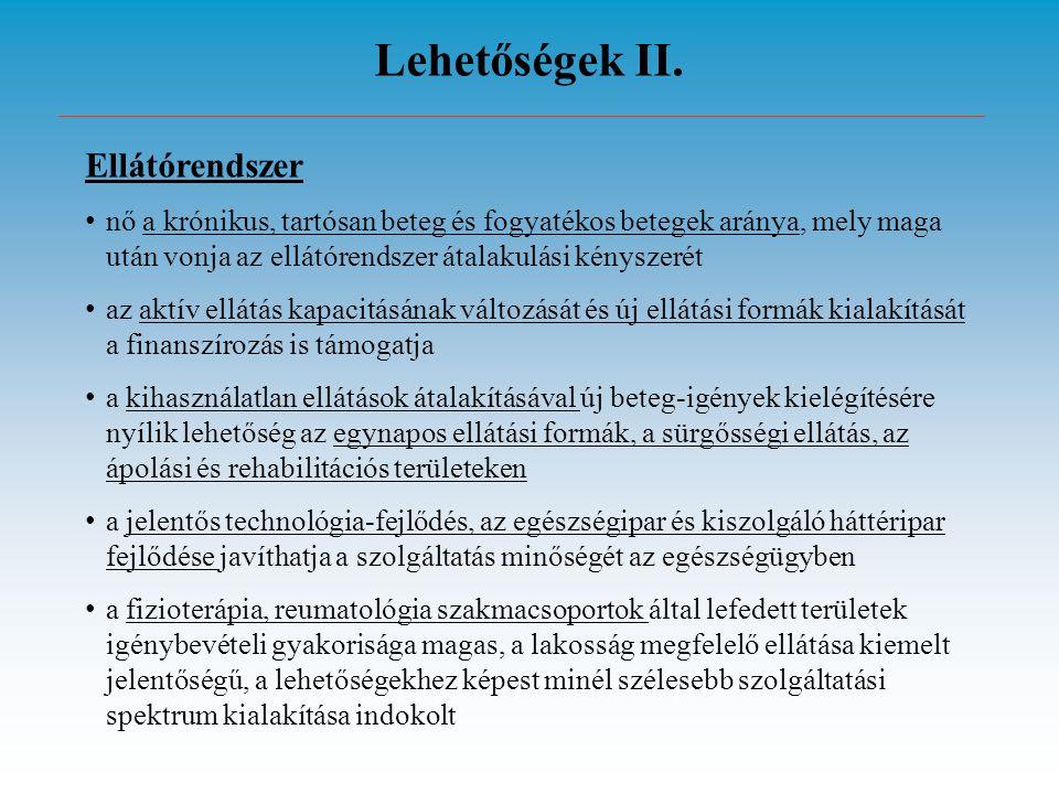 Lehetőségek II. Ellátórendszer