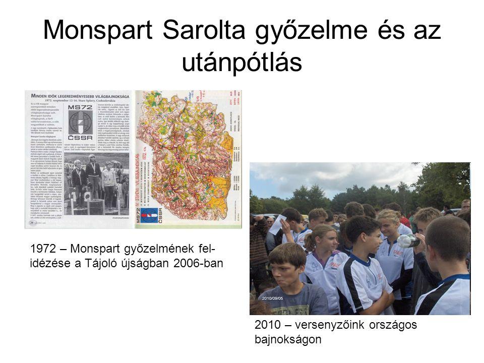 Monspart Sarolta győzelme és az utánpótlás