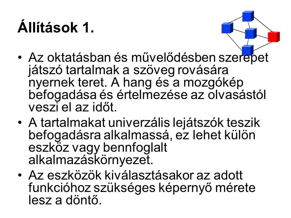 Állítások 1.
