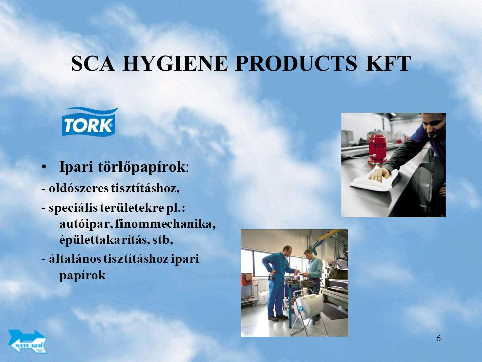 SCA HYGIENE PRODUCTS KFT