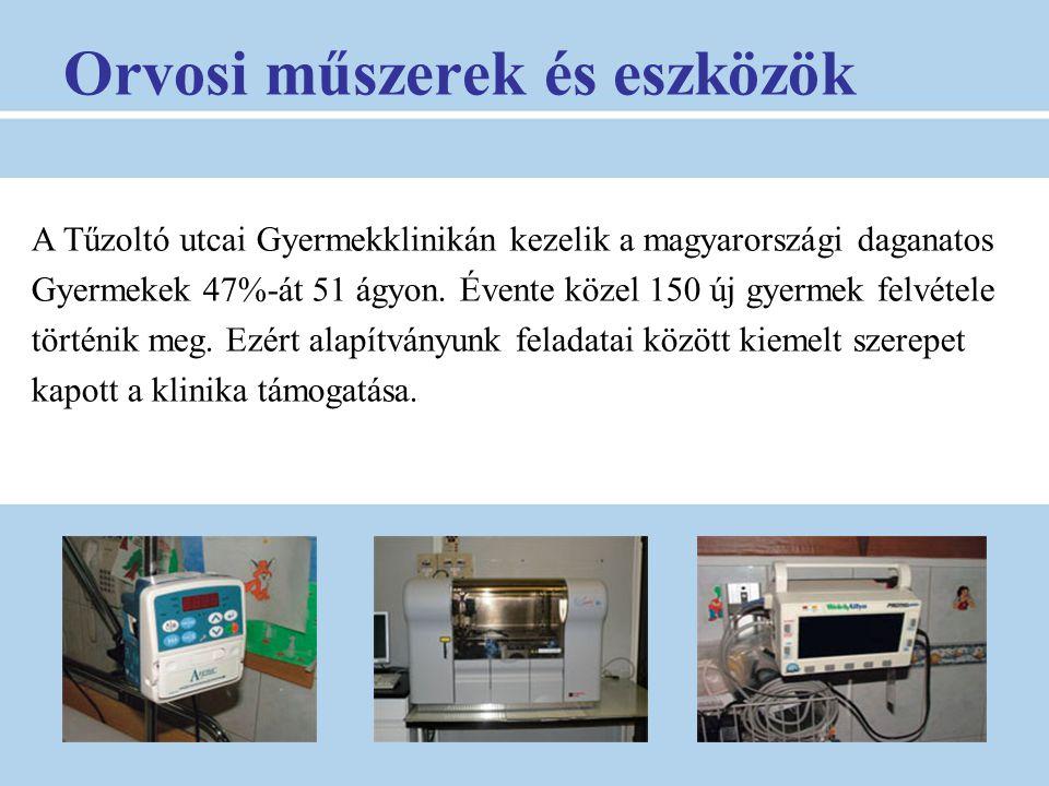 Orvosi műszerek és eszközök