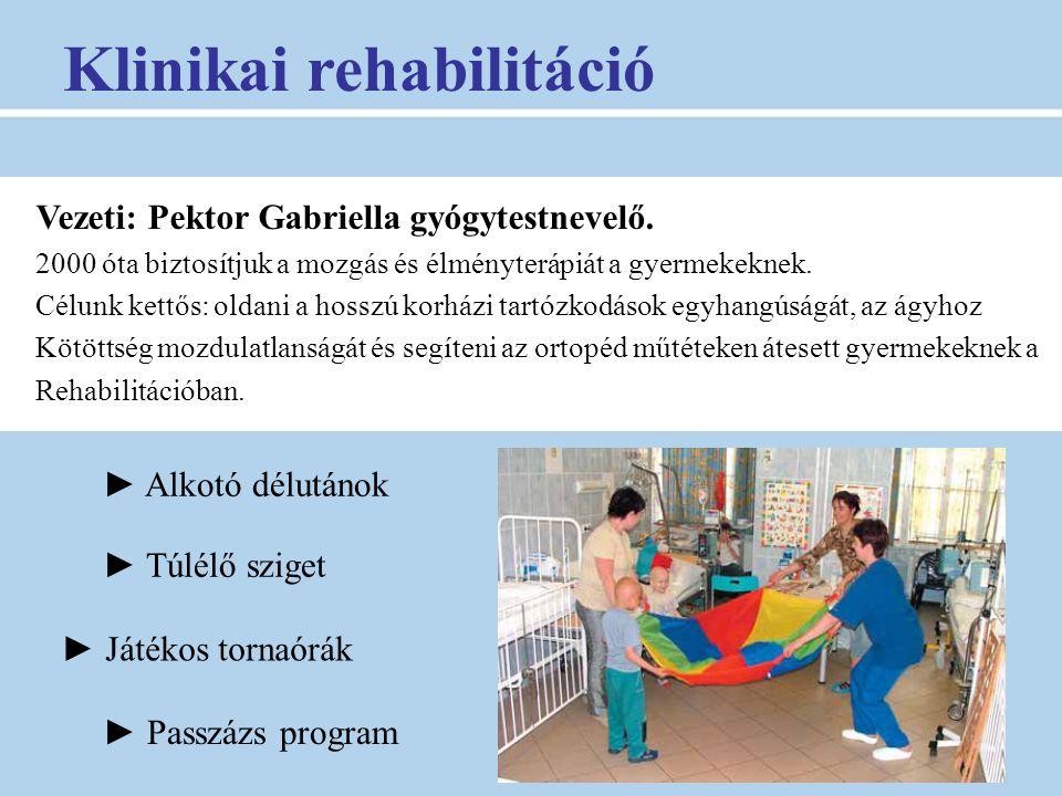 Klinikai rehabilitáció