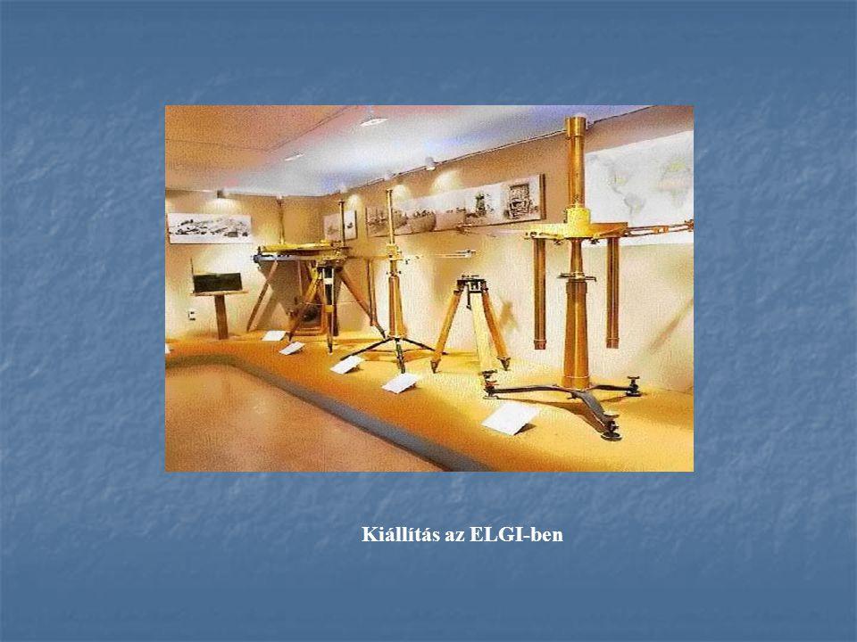 Kiállítás az ELGI-ben