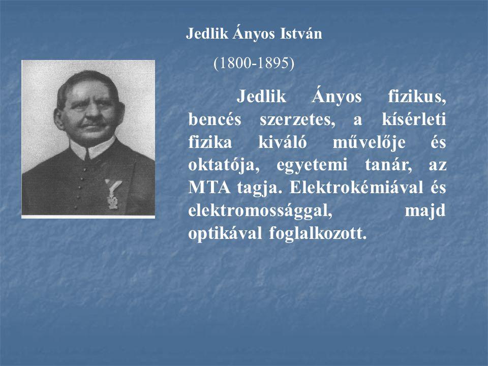 Jedlik Ányos István (1800-1895)