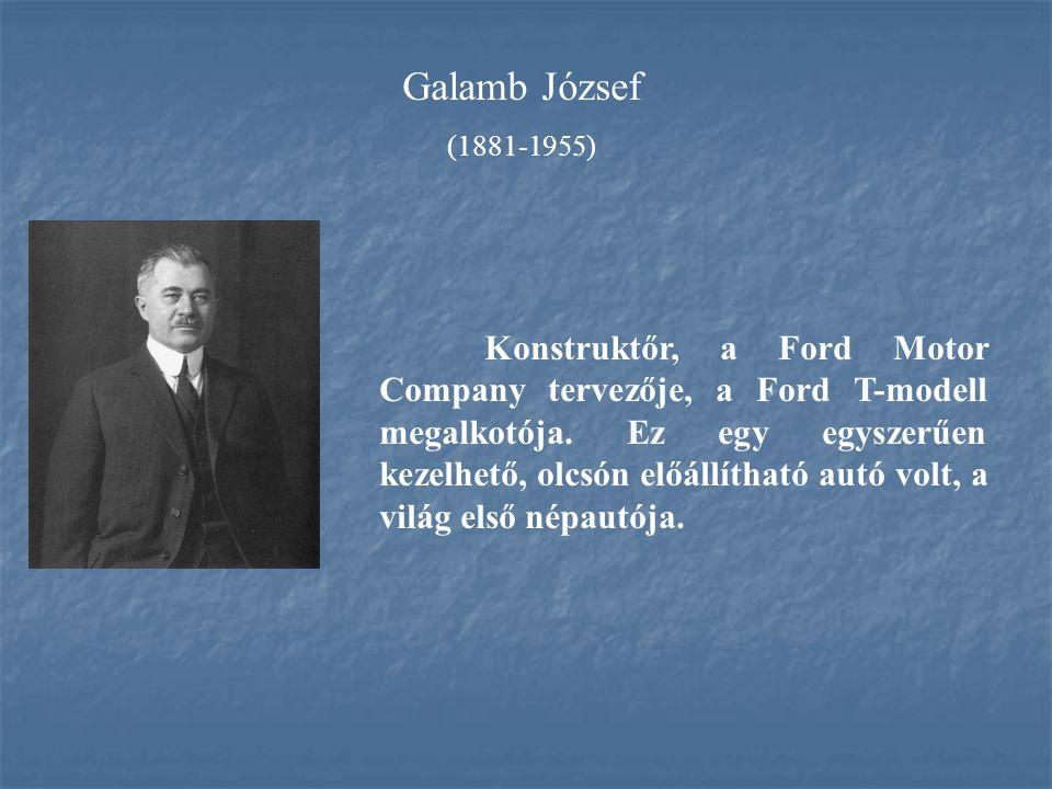 Galamb József (1881-1955)