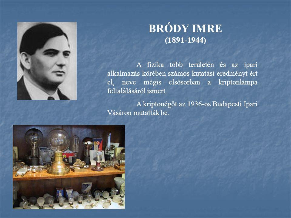 BRÓDY IMRE (1891-1944)