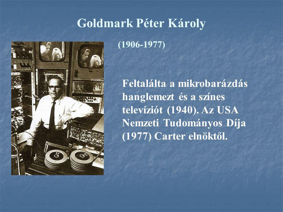 Goldmark Péter Károly (1906-1977)