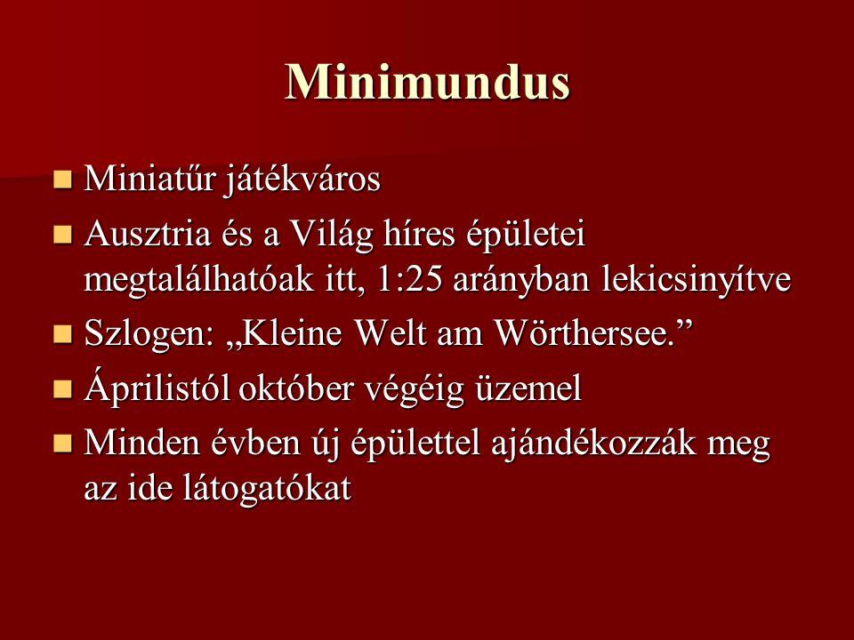 Minimundus Miniatűr játékváros