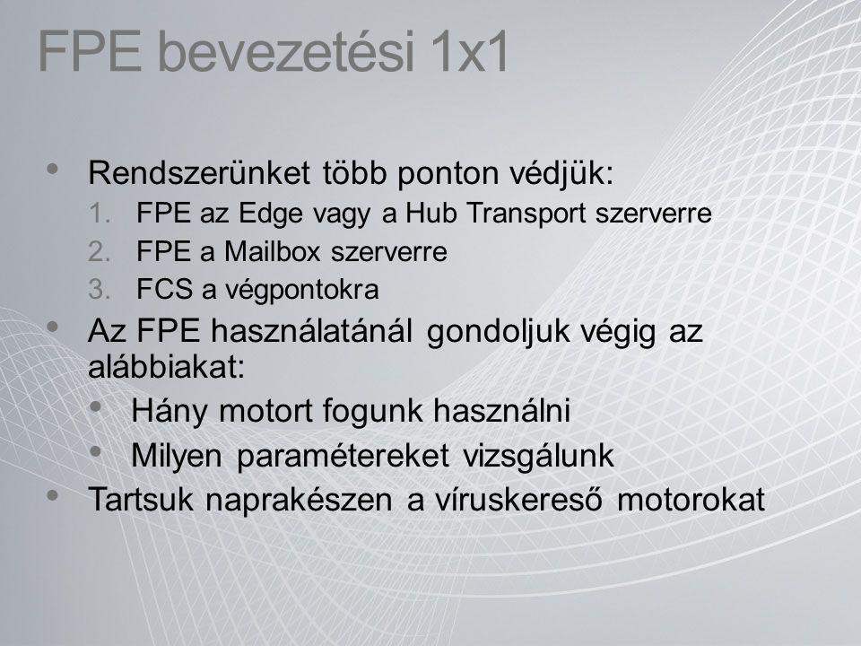 FPE bevezetési 1x1 Rendszerünket több ponton védjük: