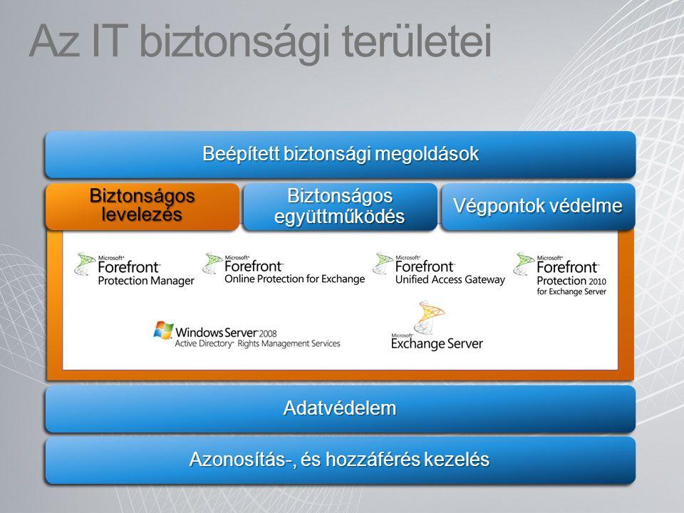 Az IT biztonsági területei