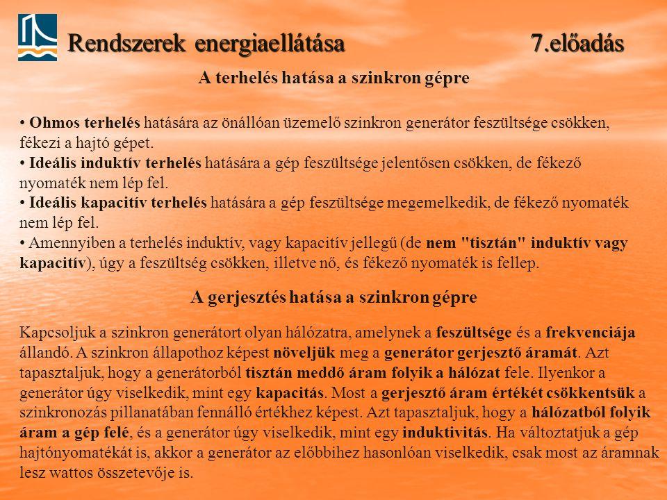 Rendszerek energiaellátása 7.előadás
