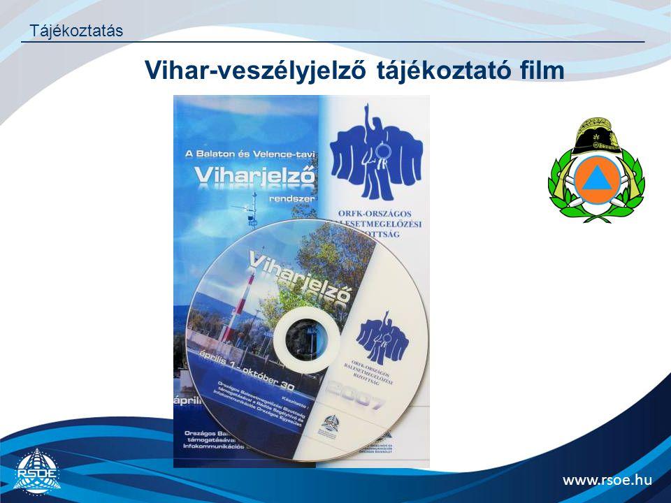Vihar-veszélyjelző tájékoztató film