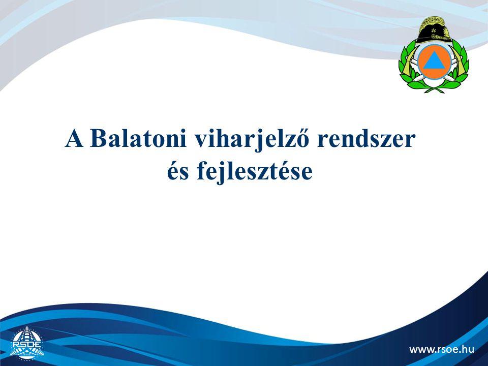 A Balatoni viharjelző rendszer és fejlesztése
