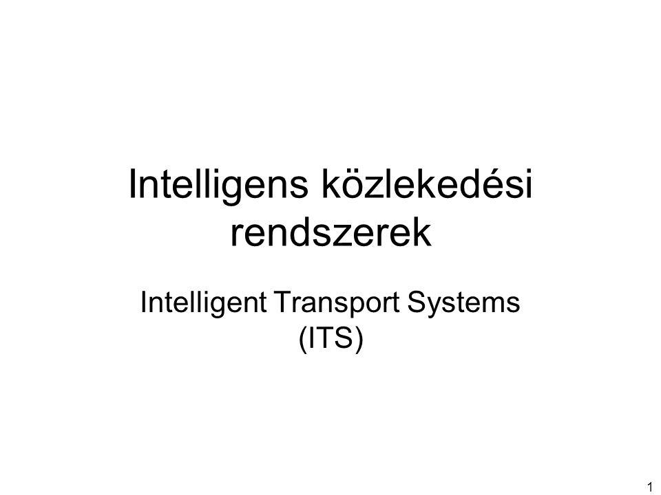 Intelligens közlekedési rendszerek