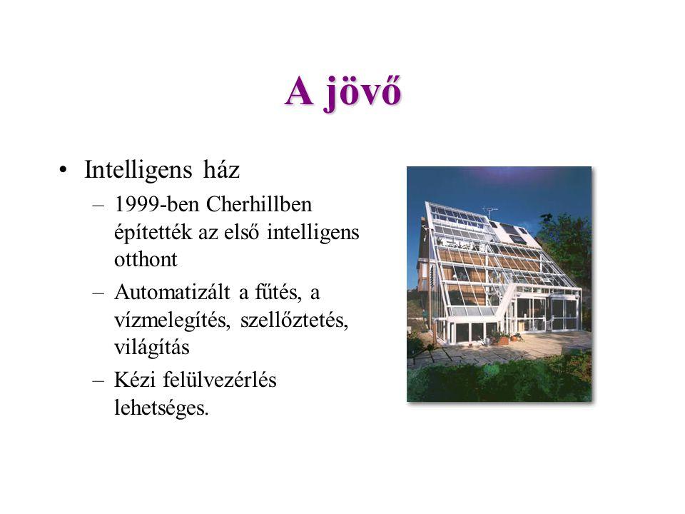 A jövő Intelligens ház. 1999-ben Cherhillben építették az első intelligens otthont. Automatizált a fűtés, a vízmelegítés, szellőztetés, világítás.
