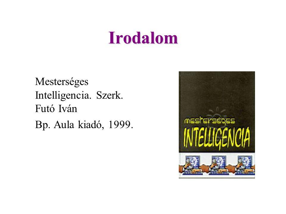Irodalom Mesterséges Intelligencia. Szerk. Futó Iván