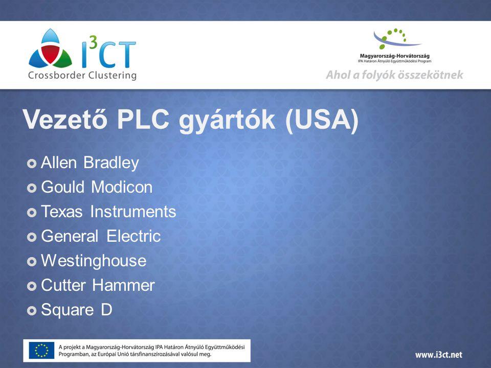 Vezető PLC gyártók (USA)