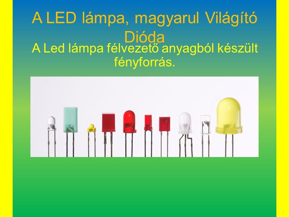 A LED lámpa, magyarul Világító Dióda