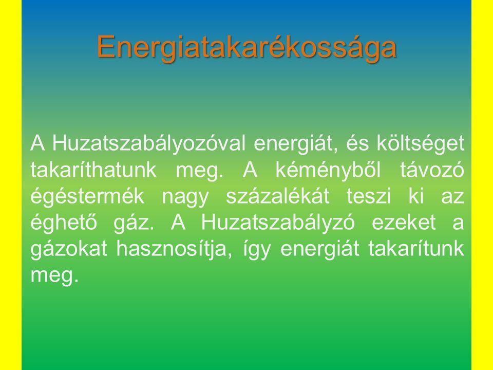 Energiatakarékossága