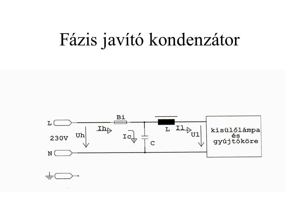 Fázis javító kondenzátor