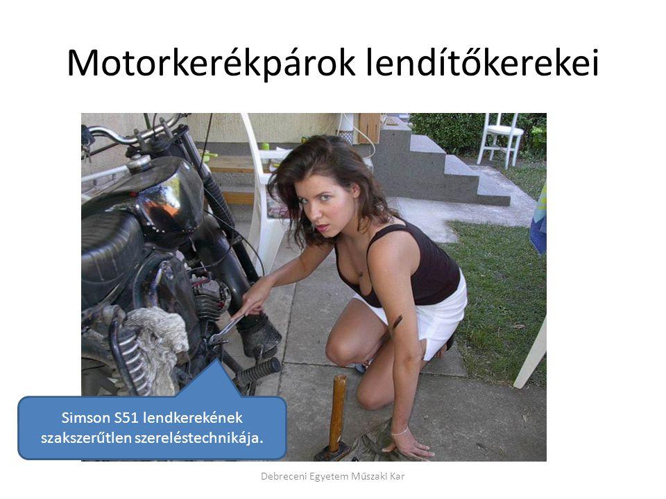 Motorkerékpárok lendítőkerekei