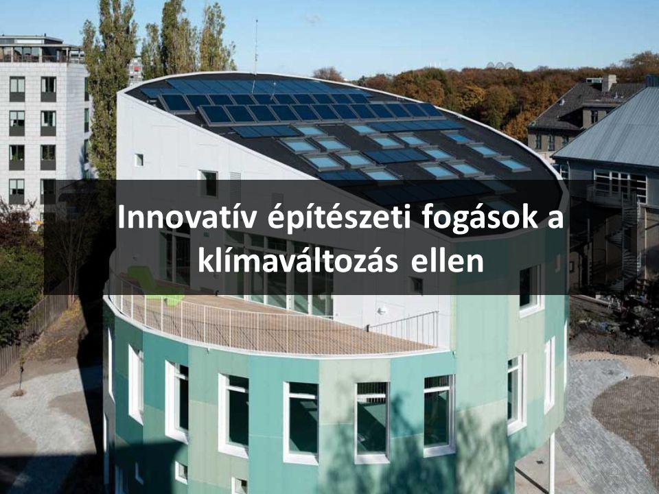 Innovatív építészeti fogások a klímaváltozás ellen