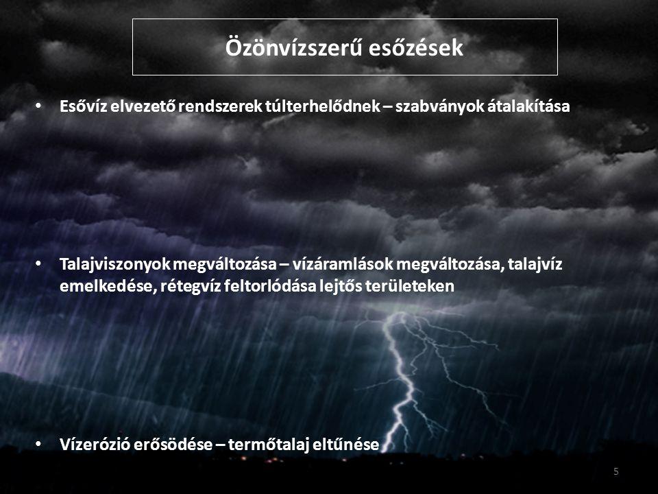Özönvízszerű esőzések