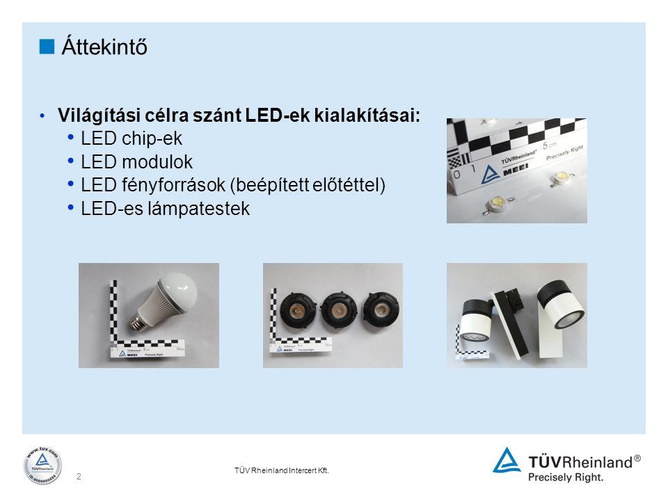 Áttekintő LED chip-ek LED modulok
