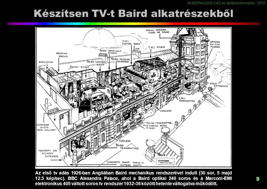 Készítsen TV-t Baird alkatrészekből