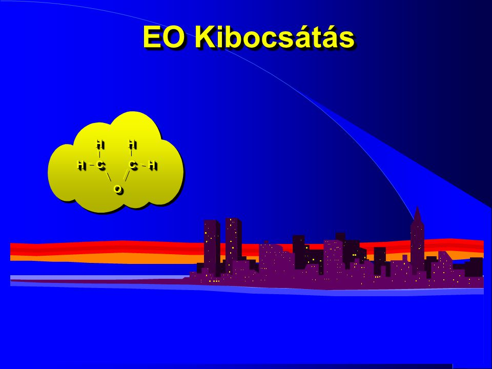 EO Kibocsátás H H H C C H O 19 30