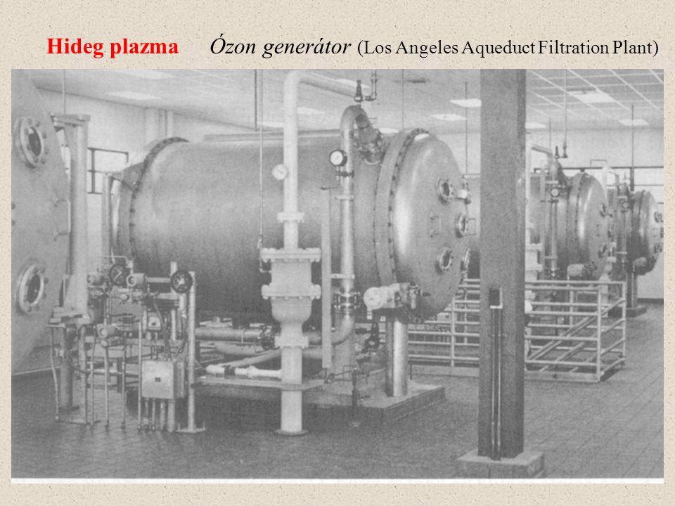 Hideg plazma Ózon generátor (Los Angeles Aqueduct Filtration Plant)
