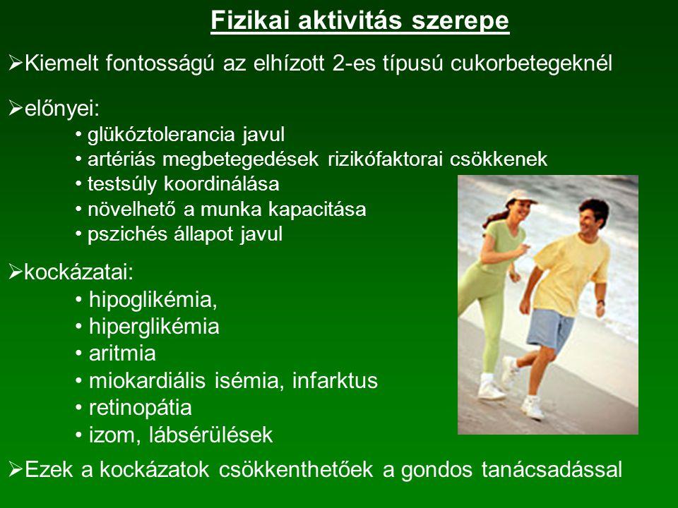 Fizikai aktivitás szerepe