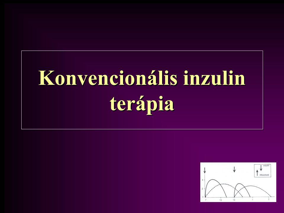 Konvencionális inzulin terápia