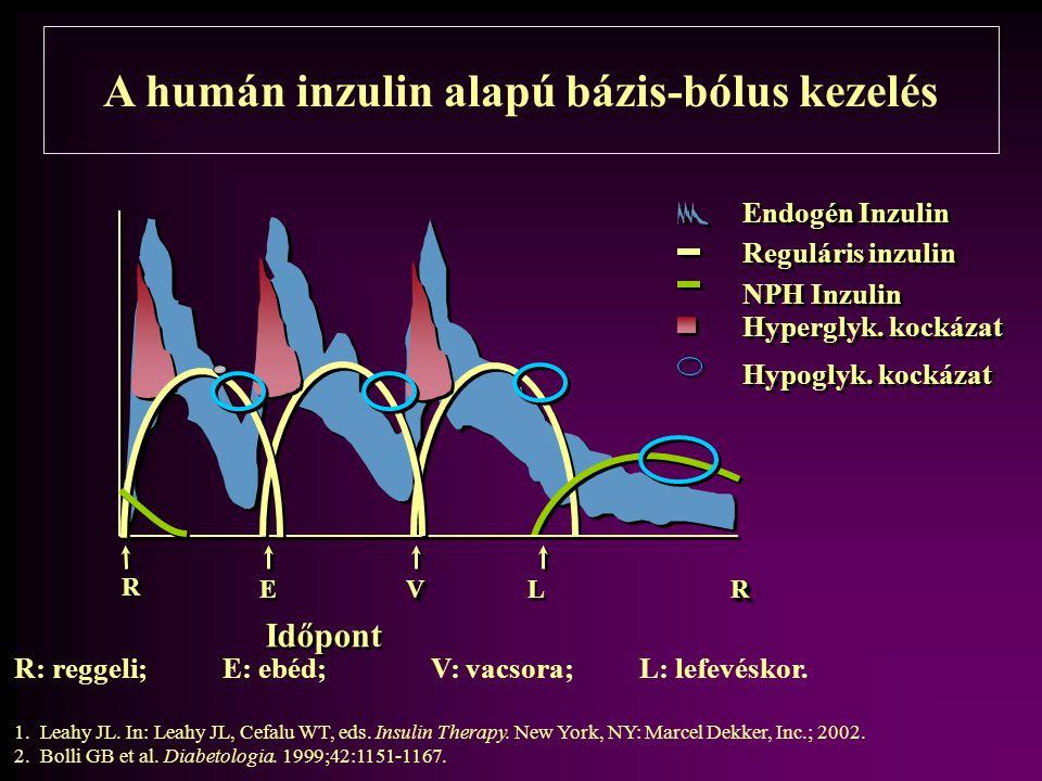 A humán inzulin alapú bázis-bólus kezelés