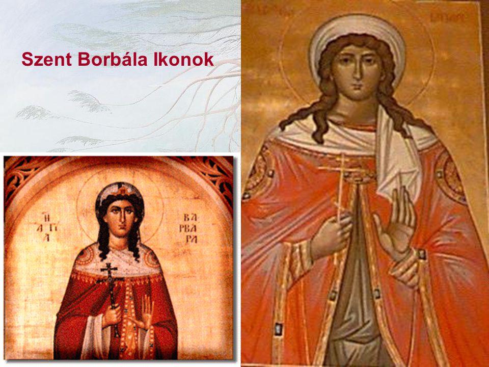 Szent Borbála Ikonok
